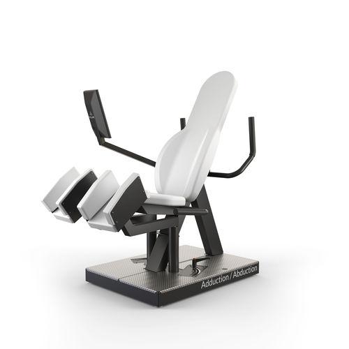 leg abduction gym station / leg adduction / rehabilitation