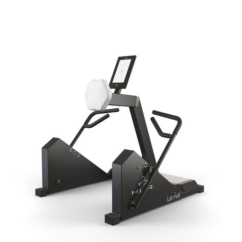 Scandinavian type rowing machine / limited mobility users