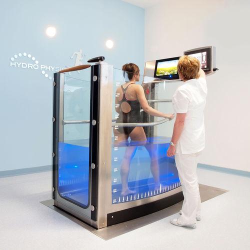 underwater treadmill / with handrails