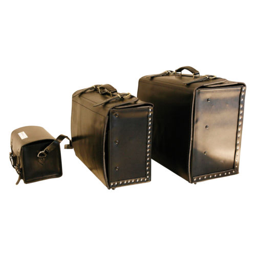 instrument medical suitcase / leather