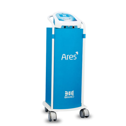 trolley-mounted carboxytherapy unit