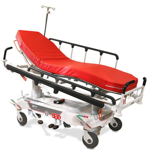 transport stretcher trolley / emergency / hydro-pneumatic / Trendelenburg