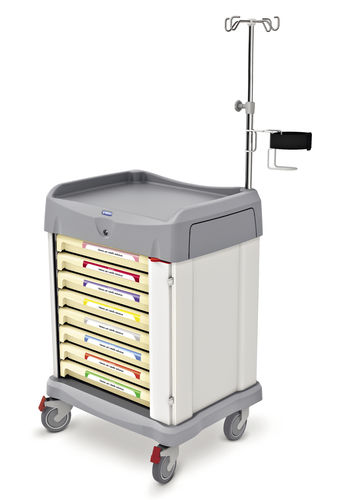 treatment trolley / for linen