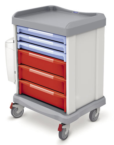multi-function trolley / for linen / with drawer / non-magnetic