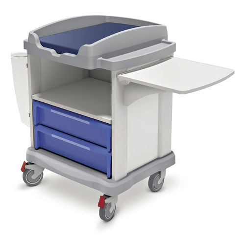 multi-function trolley / for linen / with drawer