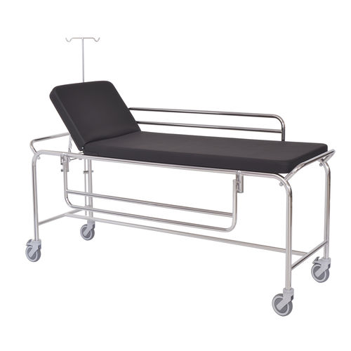 transport stretcher trolley / manual / 2 sections
