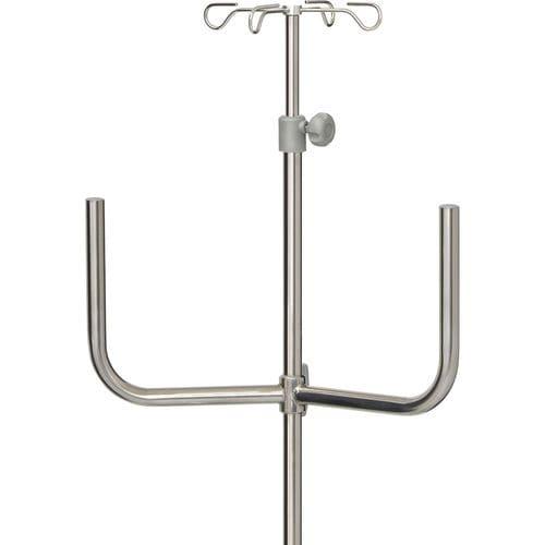 IV pole with infusion pump bracket