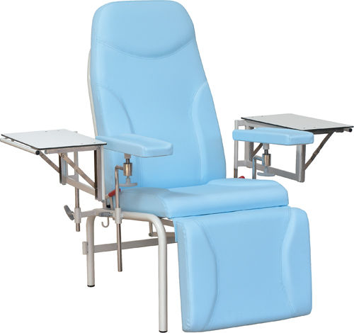 non-adjustable blood donor chair / 3-section