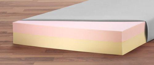 hospital bed mattress / visco-elastic foam / anti-decubitus