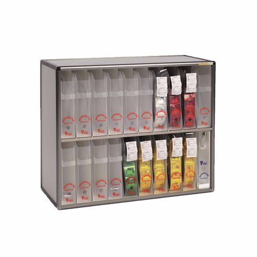 dispensing cabinet / medicine / hospital / with shelf