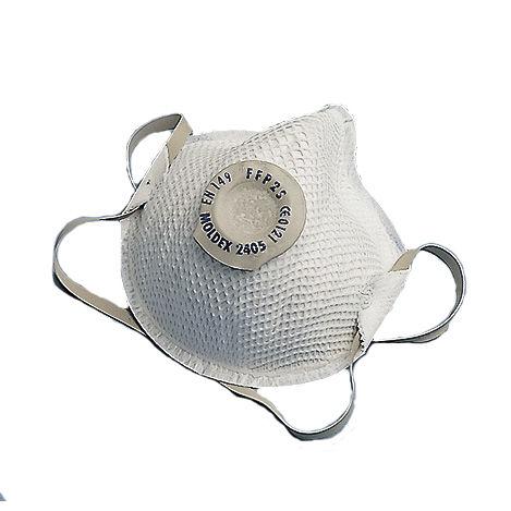 respirator with exhalation valve