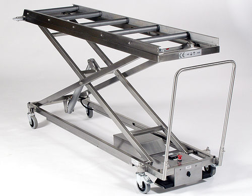 mortuary trolley / multi-function / transport / transfer