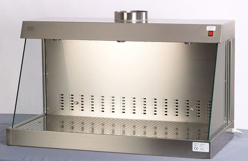 laboratory fume hood / chemical / bench-top / stainless steel