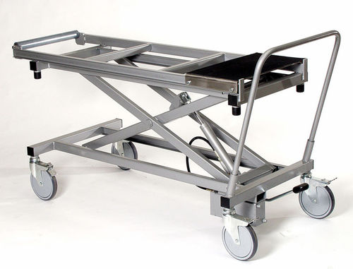 embalming trolley / dissection / treatment / transport