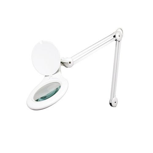 LED examination lamp / rail-mounted / magnifying