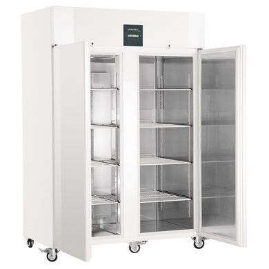 laboratory freezer / cabinet / on casters / with automatic defrost