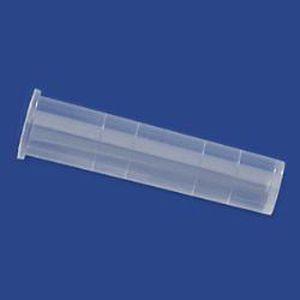 laboratory test tube / flat-bottom / polypropylene / polystyrene