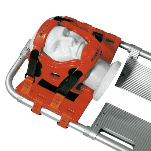 head emergency immobilizer / for scoop stretchers