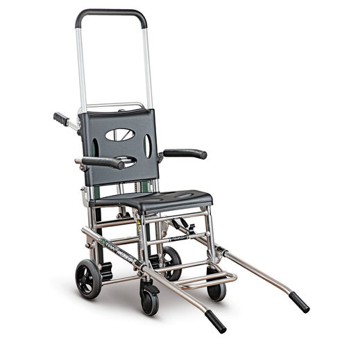 stair-climbing transfer chair / on casters