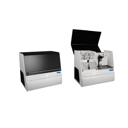 automatic cytometer / benchtop / digital / flow
