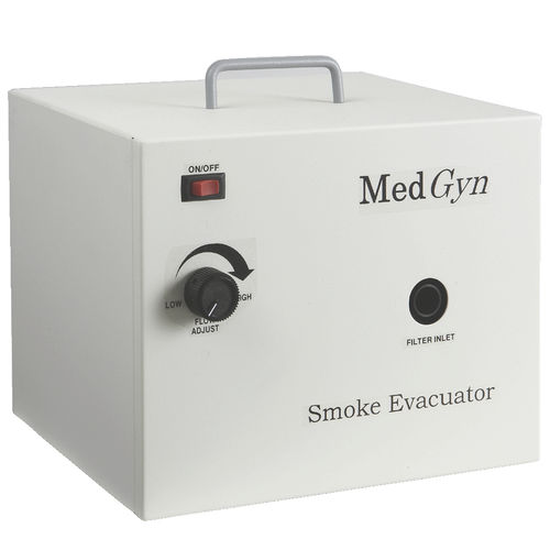 electrosurgical unit smoke evacuation system