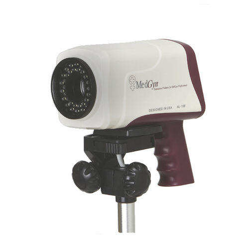 video colposcope / trolley-mounted
