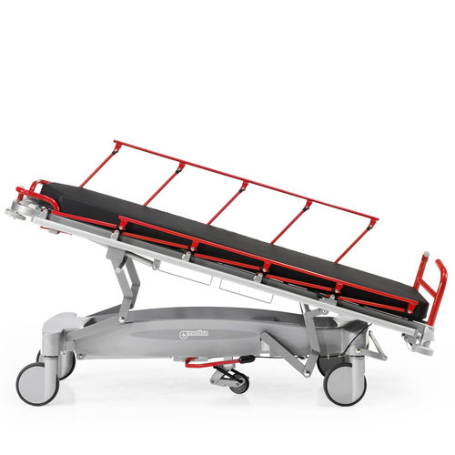 transport stretcher trolley / emergency / pneumatic / Trendelenburg