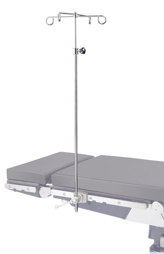 table-mounted IV pole