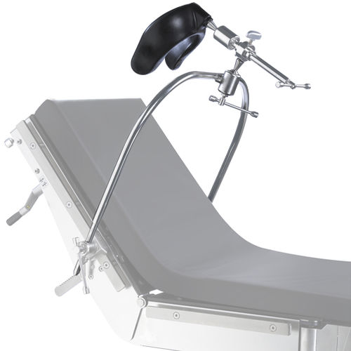 headrest / for operating tables / neurosurgery / anatomical