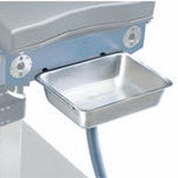 operating table cuvette / urological / with irrigation system / stainless steel