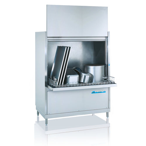 front-loading pot washer