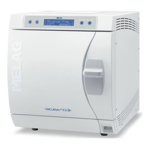 medical autoclave / front-loading / bench-top / programmable