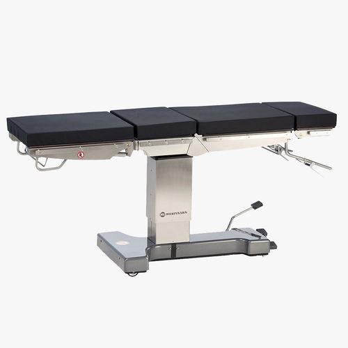 universal operating table / hydraulic / manual / X-ray transparent