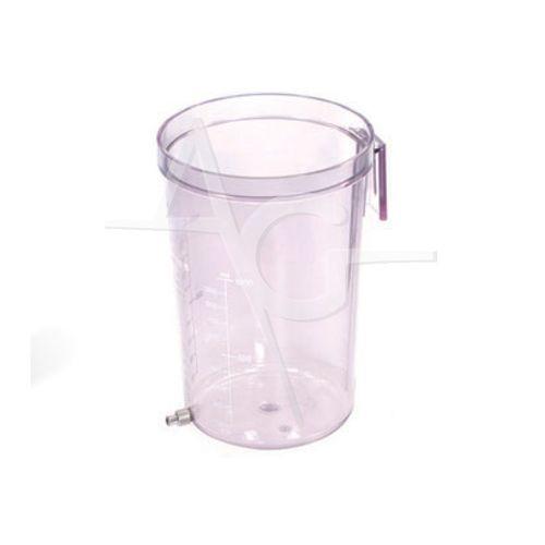 liposuction jar / polycarbonate / autoclavable