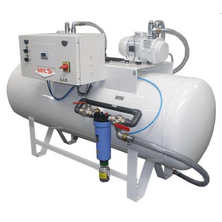 laboratory vacuum system / electronic / liquid ring / oil-free