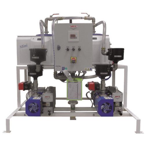 laboratory vacuum system / rotary vane / lubricated