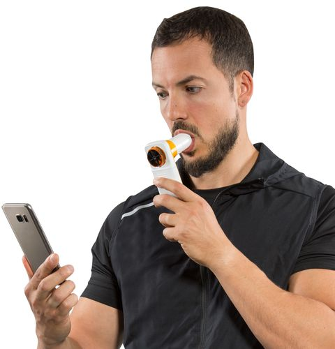 hand-held spirometer / Bluetooth / for home use / for scientific research