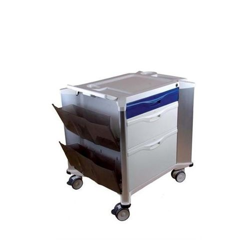 multi-function trolley / for instruments / with drawer / 1-tray