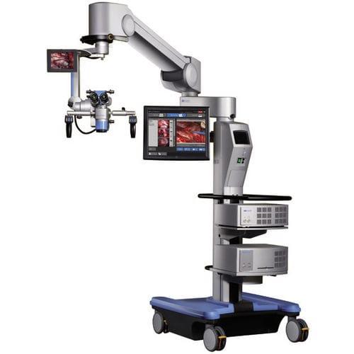 maxillofacial surgery microscope / spine surgery microscope / ENT surgery microscope / on casters