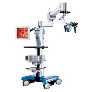 ENT surgery microscope / dental surgery microscope / on casters