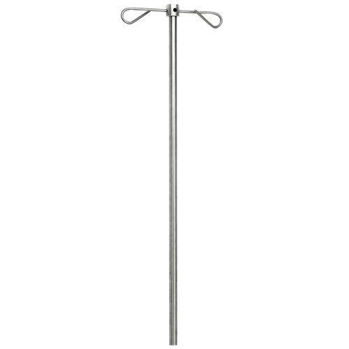 rail-mounted IV pole