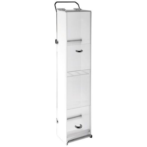 catheter cabinet / hospital / with shelf / with drawer