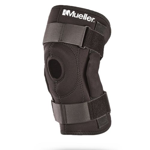 knee orthosis / articulated / with patellar pad / open knee