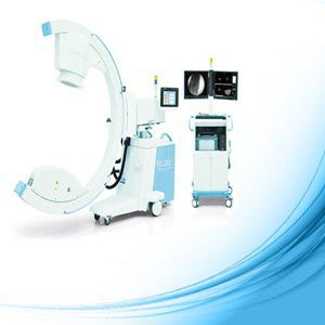 mobile C-arm / with video column