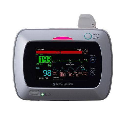 ECG vital signs monitor / SpO2 / ambulatory / wearable