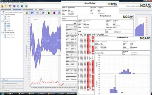 management software / monitoring / for blood pressure monitors / server