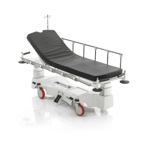 transport stretcher trolley / transfer / recovery / electric