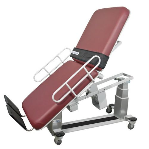 ultrasound imaging examination table / cardiology / electric / height-adjustable