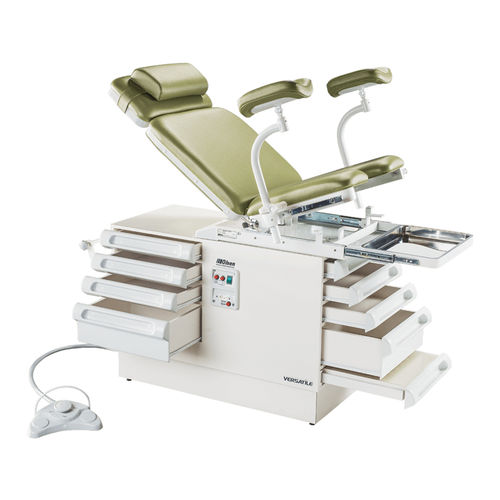gynecological examination chair / electric / 2 sections