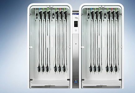 drying cabinet / for endoscopes / hospital
